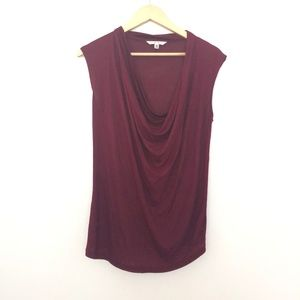CAbi 535 Sleeveless Cowl Neck Top XS